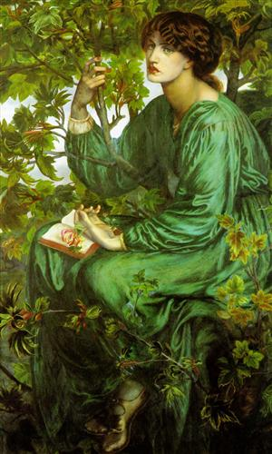 The Day Dream - Dante Gabriel Rossetti