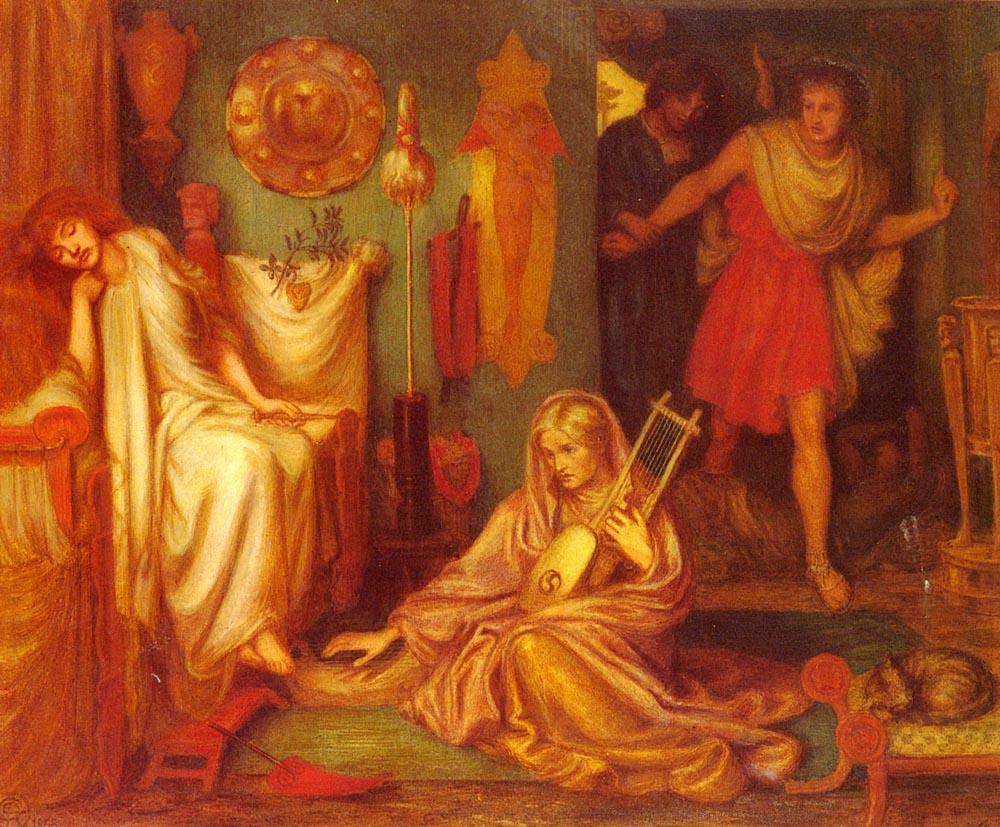 The Return Of Tibullus To Delia, 1868
