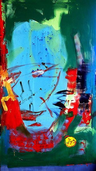 Mr. Blue Head, c.2004 - David Michael Hinnebusch
