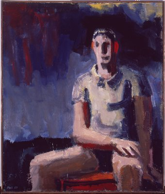 Man in a T-Shirt, 1958 - David Park