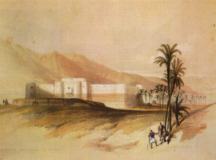 Fortress of Aqaba - David Roberts