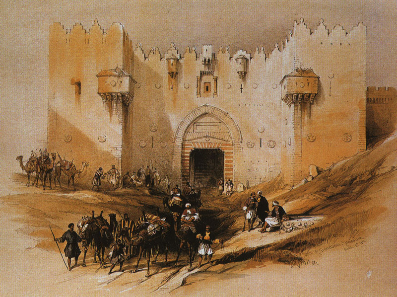 Jerusalem. The Damascus Gate