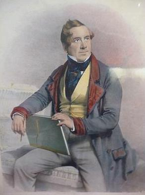 Self Portrait, 1847 - David Roberts