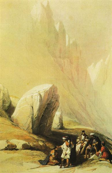 The Rock of Moses - David Roberts