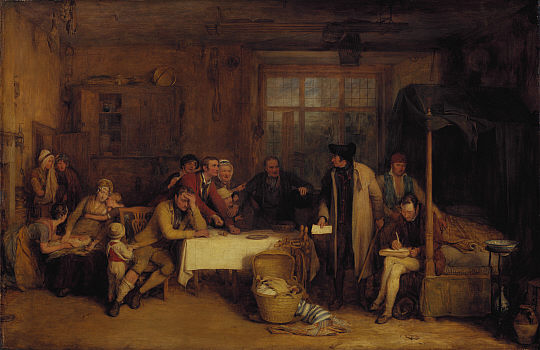 Distraining for Rent, 1815 - David Wilkie