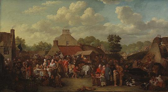 Pitlessie Fair, 1804 - David Wilkie