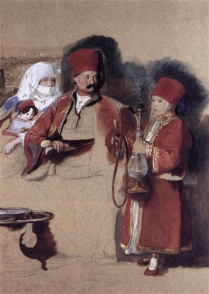 Portrait of Sotiri - Дейвід Вілкі