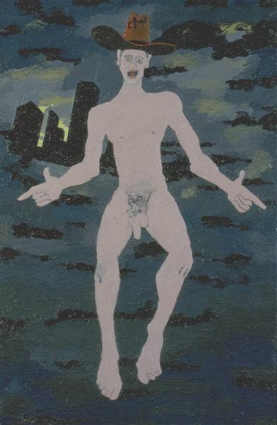 Naked Cowboy, 1980 - Derek Boshier