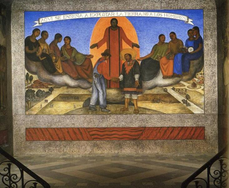 Alliance of the Peasant and the Industrial Worker - Diego Rivera