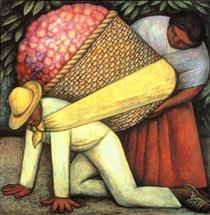 Flower Carrier - Diego Rivera