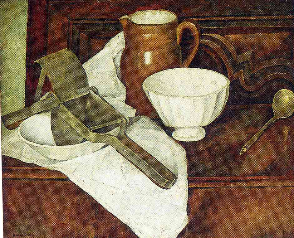 Still Life with Ricer also known as Still Life with Garlic Press, 1918