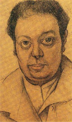 Self Portrait - Diego Rivera