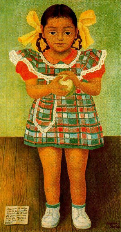 Portrait of the Young Girl Elenita Carrillo Flores, 1952