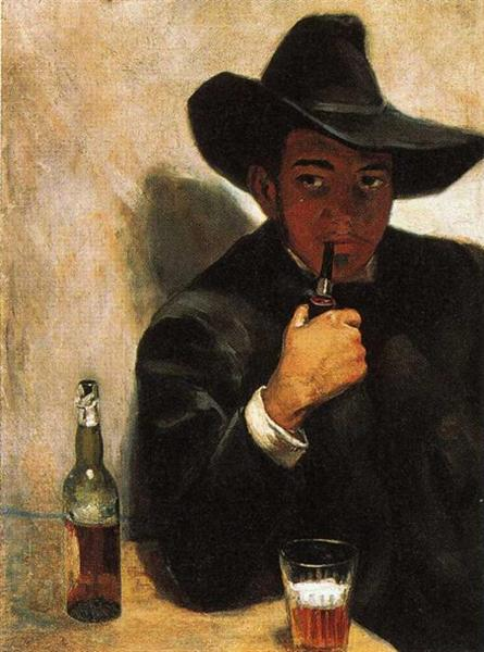 Self-Portrait, 1907 - Diego Rivera