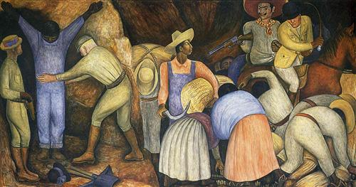The Exploiters - Diego Rivera