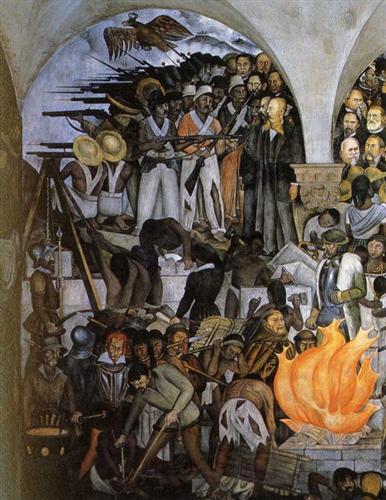 The History of Mexico - Diego Rivera