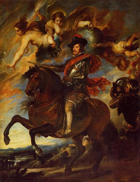 Allegorical Portrait of Philip IV - Diego Velazquez