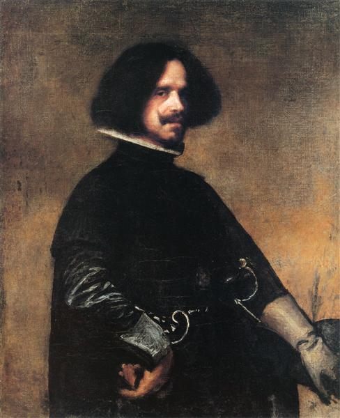Self-portrait, c.1645 - Diego Velazquez