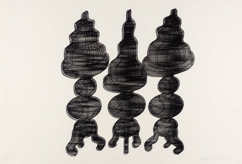 3 Cakes on Swivel Chairs, 1971 - Dieter Roth