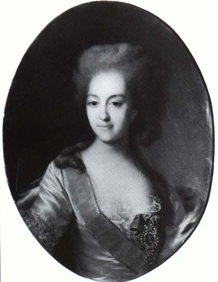 Ekaterina Orlova, c.1782 - Dmitry Levitsky