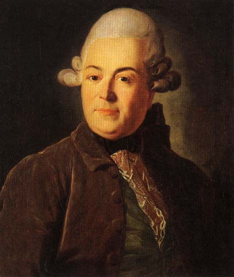 Ivan Glebov (Oscherin), 1770 - Dmitry Levitzky