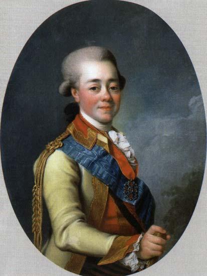 Paul I of Russia, c.1785 - Dmitry Levitzky