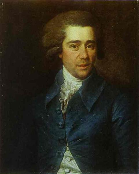 Portrait of Gubarev, 1788 - Dmitry Levitzky