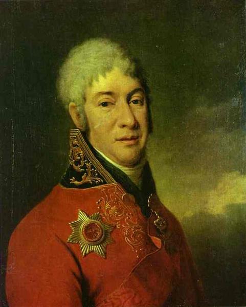 Portrait of I. V. Lopukhin, c.1803 - Dmitry Levitzky