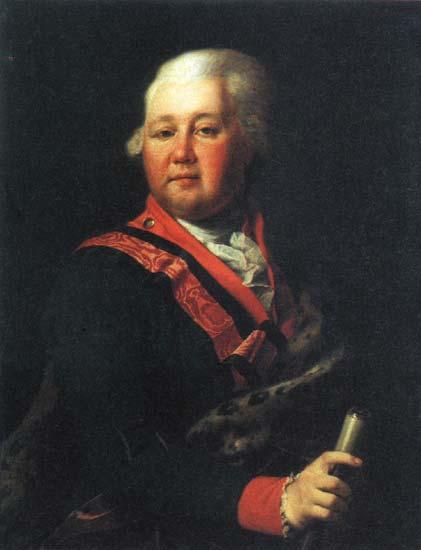 Valentin Platonovich Musin Pushkin, c.1790 - Dmitri Grigorjewitsch Lewizki