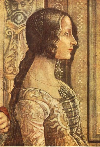 Ludovica Tornabuoni, 1486 - 1490 - Domenico Ghirlandaio