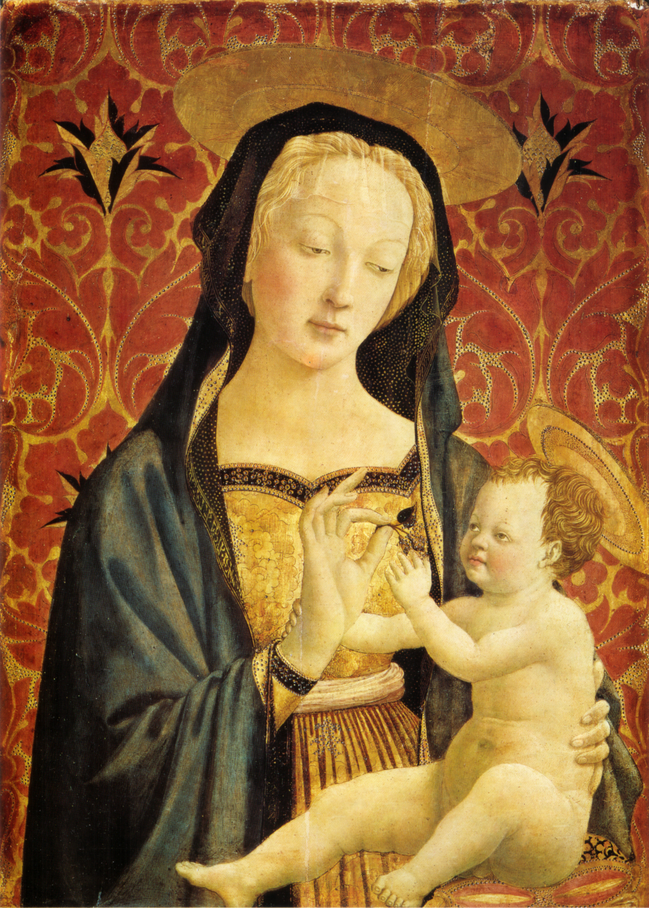 Madonna and Child - Domenico Veneziano - WikiArt.org ...