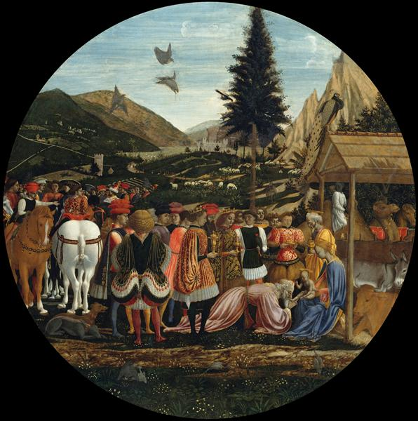 The Adoration of the Magi, c.1439 - Domenico Veneziano