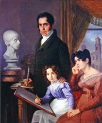 Família Barros - Domingos de Sequeira