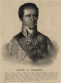 Manuel Inácio Martins Pamplona Corte Real, count of Subserra - Domingos de Sequeira