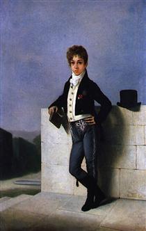 Retrato de Conde de Farrobo - Domingos de Sequeira