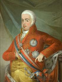 Retrato de D. João VI, Rei de Portugal - Domingos de Sequeira