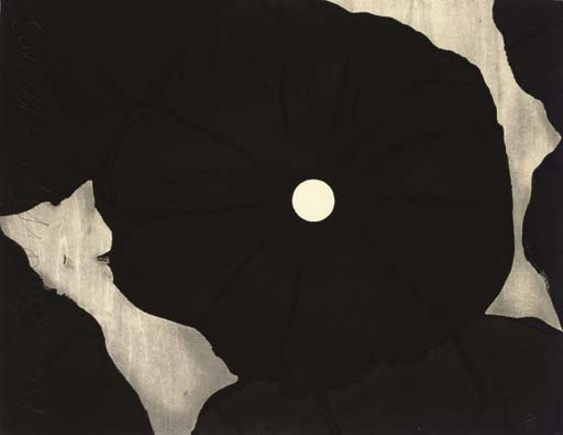 Black Flowers, September 26, 1999, 1999 - Donald Sultan