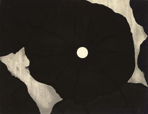 Black Flowers, September 26, 1999, 1999 - Donald Sultan