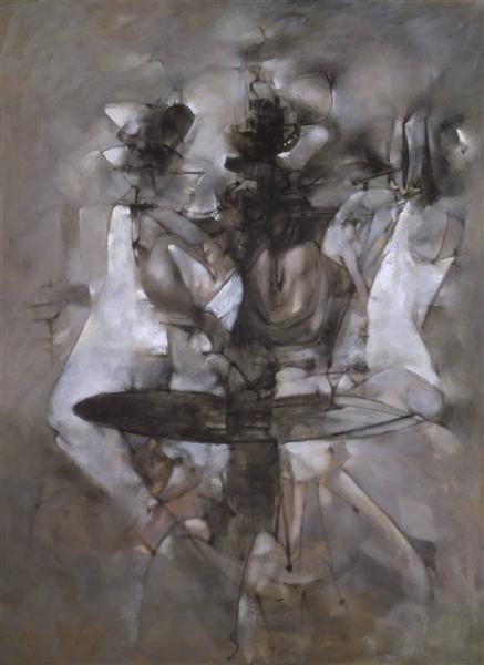 A Mi-Voix, 1958 - Dorothea Tanning