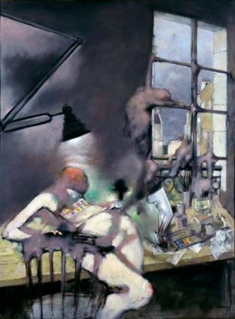 Still in the Studio, 1979 - Dorothea Tanning