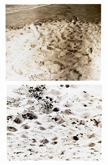 Duration Piece #12, Venice, California - Plum Island, (Newburyport) Massachusettes, 1969 - Douglas Huebler