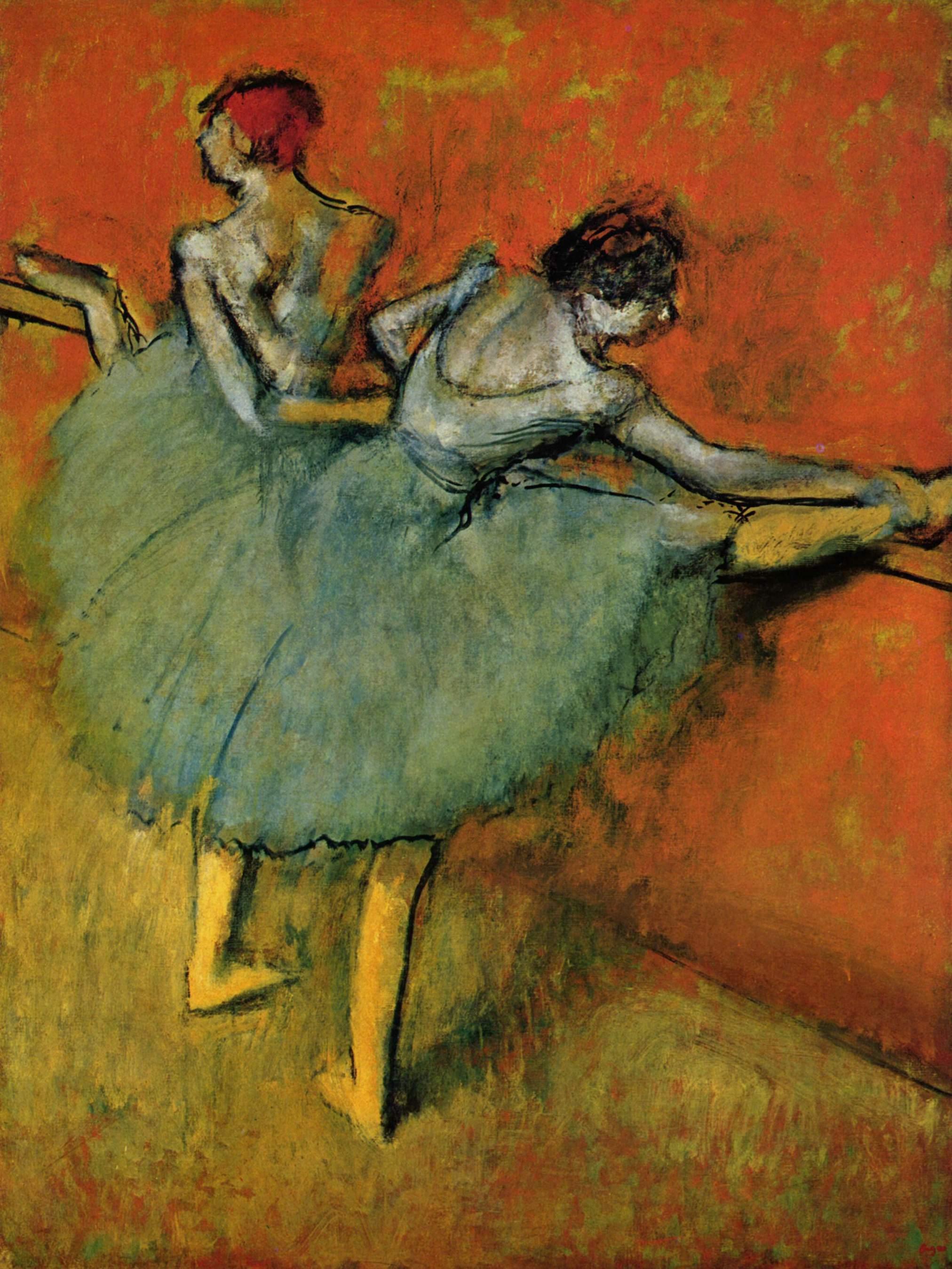 The Dance Class by Edgar Degas (1873)   Degas paintings