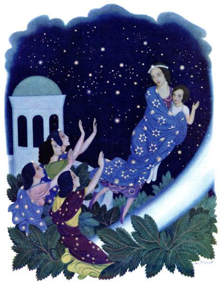Daughters of the Stars, by Mary Crary - Edmund Dulac