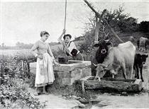 Paysannerie - Edouard Debat-Ponsan
