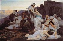 The Daughter of Jephthah - Edouard Debat-Ponsan