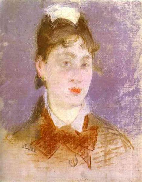 A young girl, 1880 - Edouard Manet
