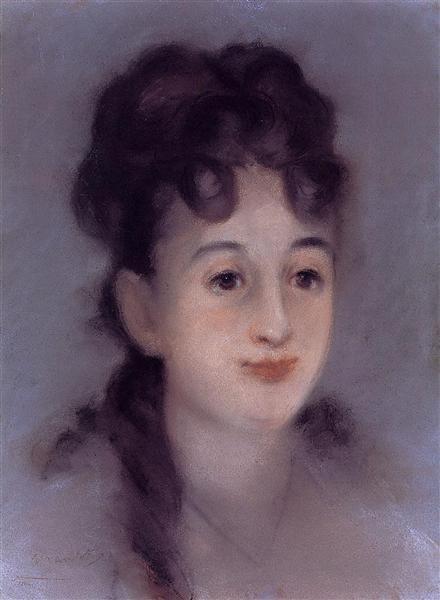 Eva Gonzales, 1878 - Edouard Manet