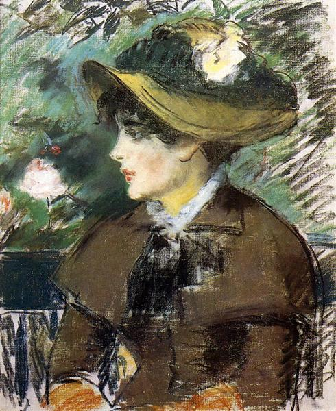 On the Bench, 1879 - Edouard Manet