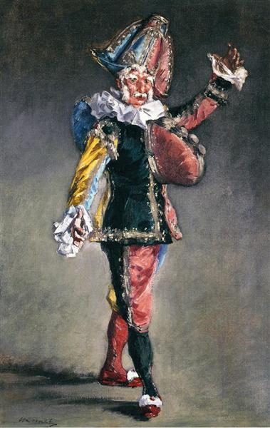 Polichinelle, 1873 - Edouard Manet