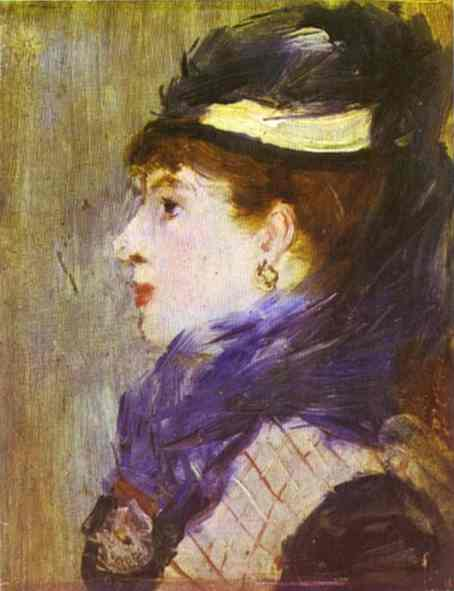 Portrait of a Lady, c.1879 - Edouard Manet